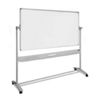 Mobiel whiteboard voor lessen
